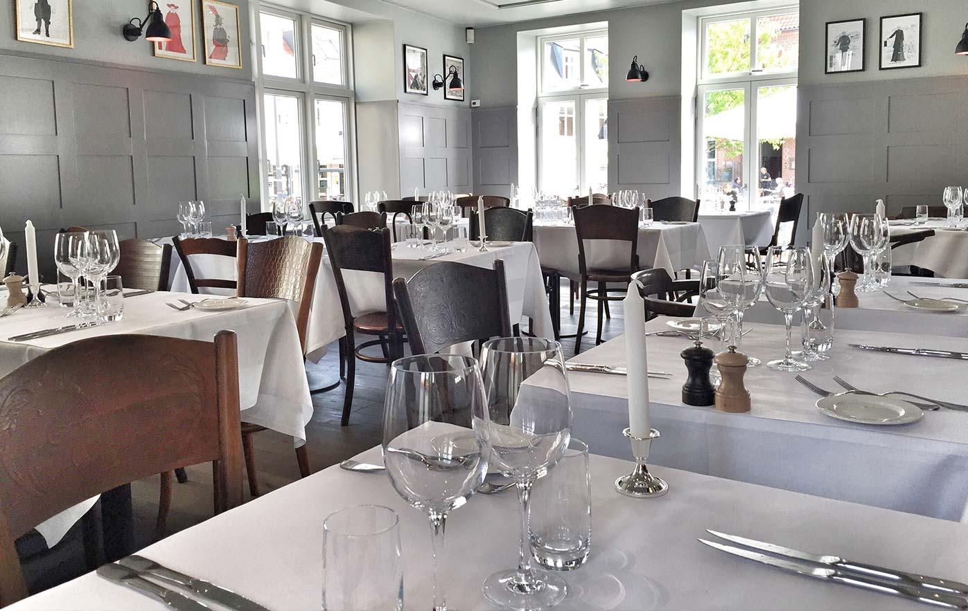 Restaurant Brdr. Price i Aalborg lokaler