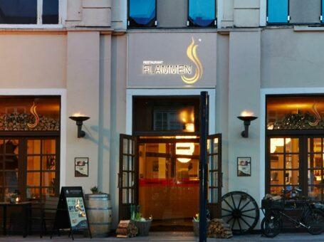 Restaurant Flammen Aalborg spis reserver menukort buffet grill mad book bord dinnerlust nordjylland