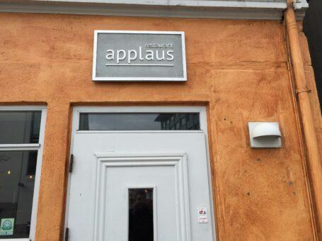 Restaurant Applaus i Aalborg Ved Stranden dinnerlust menu café restauranter 9000 reserver book bord menukort