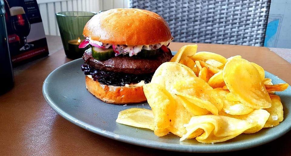 restaurant vestre baadelaug burger bådehavnsvej aalborg menukort dinnerlust