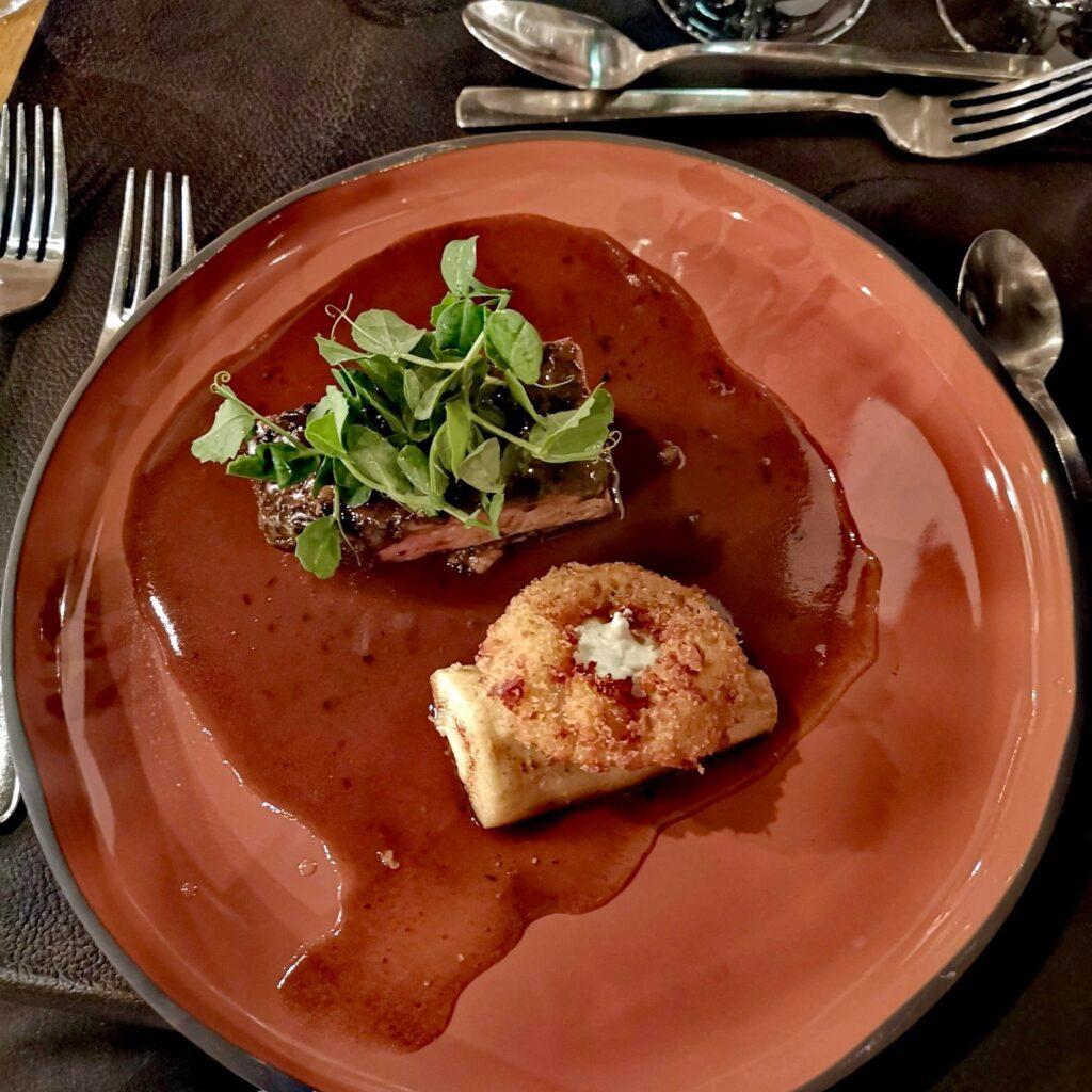 søgaards bryghus aalborg dinnerlust menukort hele svineriet